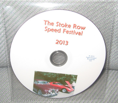 The Stoke Row Speed Festival 2013 - DVD in clear sleeve